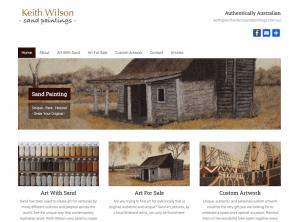 Keith Wilson Sand Paintings