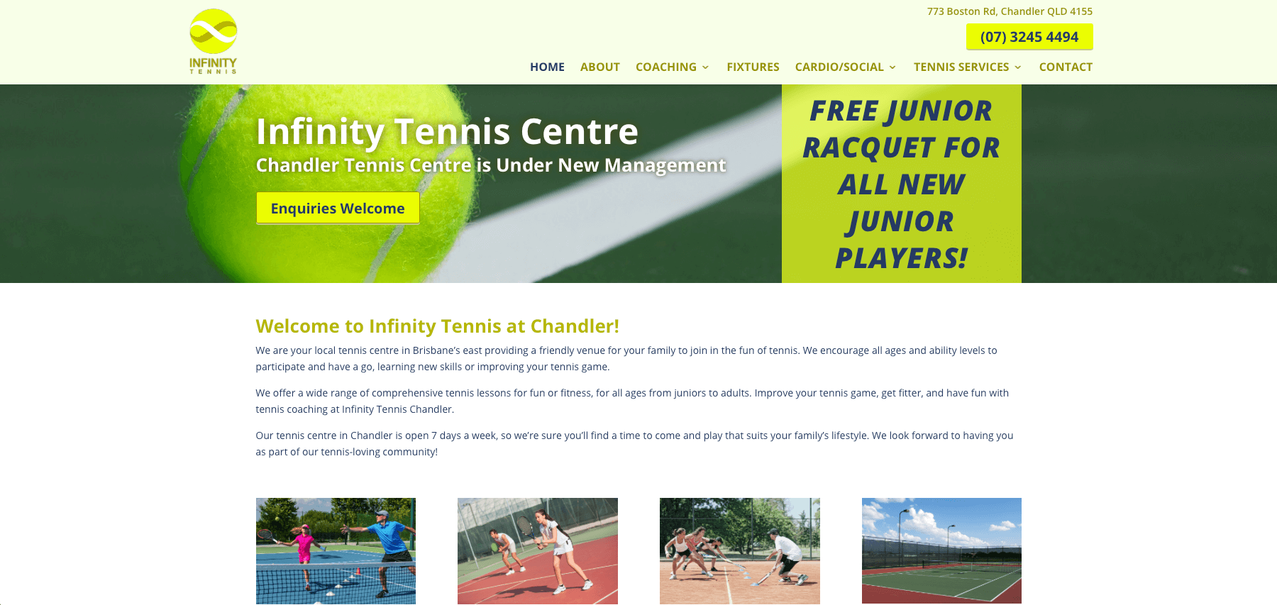 Infinity Tennis Chandler
