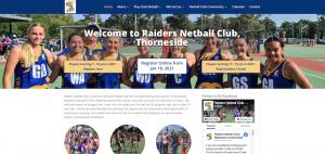 raiders netball club website